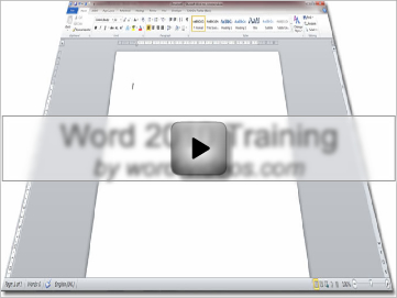 Word 2010 Video Tutorials